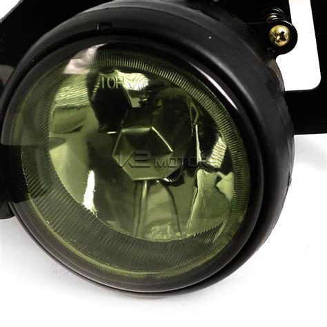 light smoke kit 99 00 honda civic oem style fog lights kit smoked