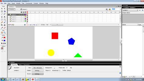 cara membuat video animasi dengan macromedia flash cara membuat animasi sederhana dengan macromedia flash
