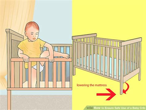 What Age To Put Baby In Crib How To Ensure Safe Use Of A Baby Crib 15 Steps With Pictures