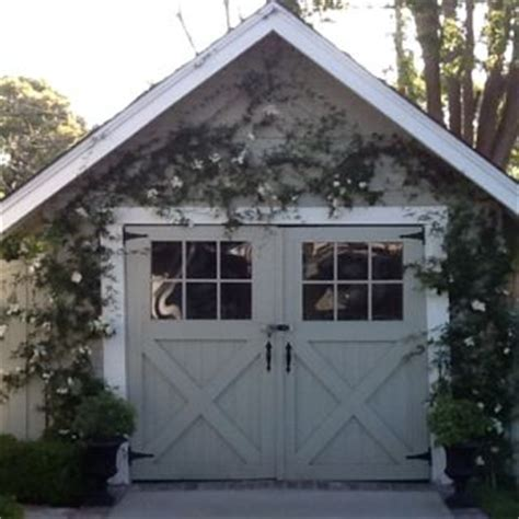 Small Garage Door by Garage Outside