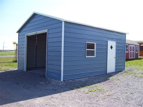 one car carport deluxe one car steel garage carport com