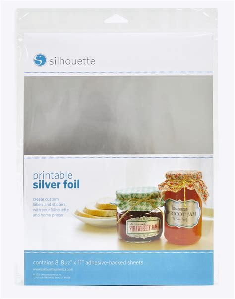 printable foil sticker paper printable sticker silver foil gt specialty papers