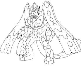 pokemon coloring pages zygarde imgimg