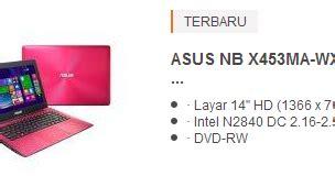 Laptop Asus 4 Jutaan harga laptop asus 4 jutaan terbaru 2017