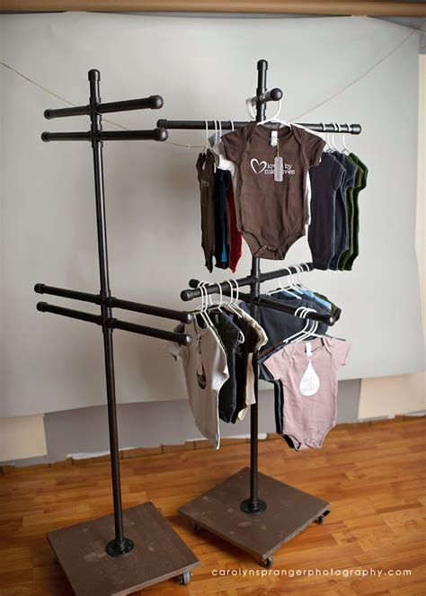 a diy clothing vendor display rack carolyn spranger photography