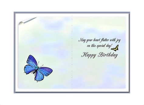 printable birthday cards blank 89 birthday card templates free premium templates