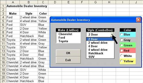 excel 2010 listbox tutorial tom s tutorials for excel populating and sorting unique