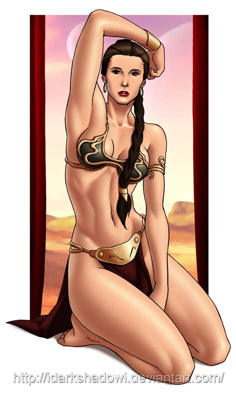 Slave Leia By Idarkshadowi On Deviantart