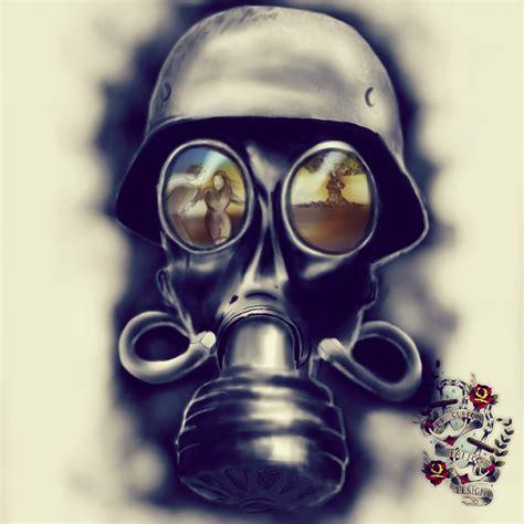 gas mask tattoo designs 15 gas mask design