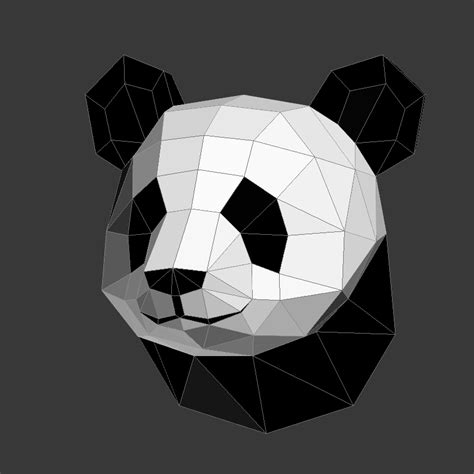 Papercraft Panda - papercraft panda on behance