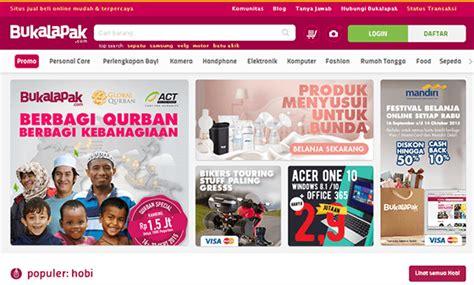 design website terbaik indonesia 10 contoh website online shop terbaik untuk inspirasi