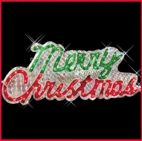 24 best merry christmas lighted sign images on pinterest
