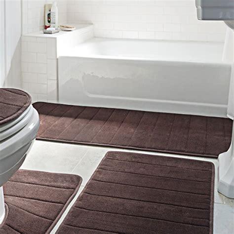 5 piece bathroom rug set bathroom rug mat 5 piece set memory foam extra soft non