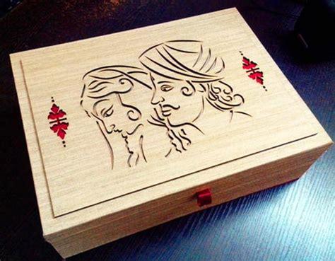 Wedding Box Manufacturers In Delhi by Laser Cutting Wedding Card Box Manufacturer In Delhi Delhi