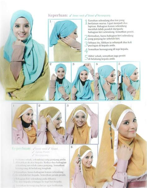 tutorial menggunakan niqab 186 best images about hijab tutorial on pinterest