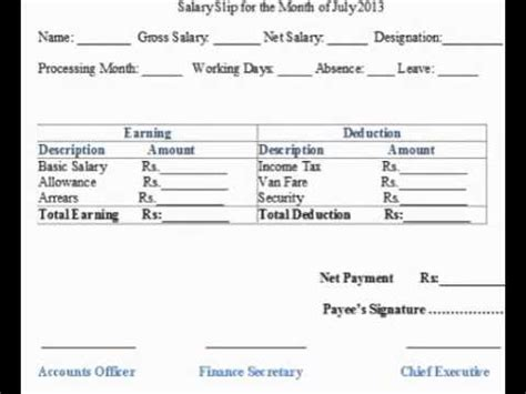 driver salary receipt template india driver salary receipt format