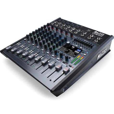 Mixer Audio Alto alto live 802 mixing desk dsp effects usb audio the