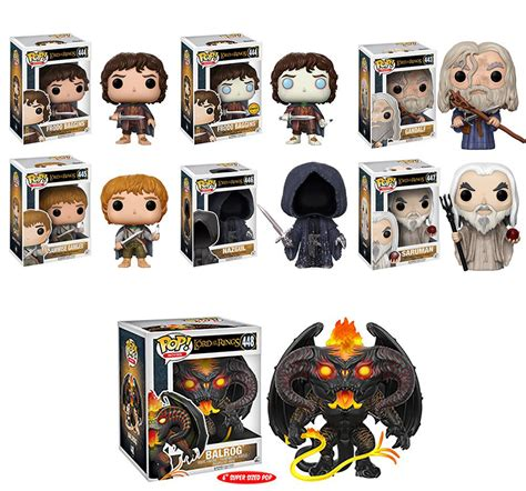 Funko Pop Gandalf The Lord Of The Rings lord of the rings pop vinyl figures by funko actionfiguresdaily