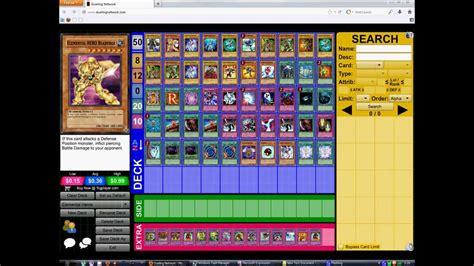 yugioh jaden deck dueling network jaden e deck