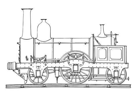 barco de vapor y ferrocarril dibujo para colorear locomotora de vapor img 19075
