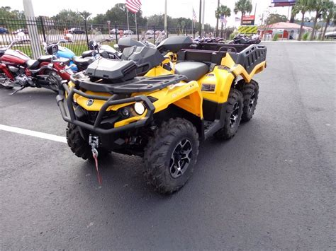 used can am outlander 1000 for sale 2015 can am outlander 6x6 xt 1000 for sale