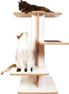 Modern Cat Tree by Acacia Cat Tree Modern Pet Supplies By Square Cat