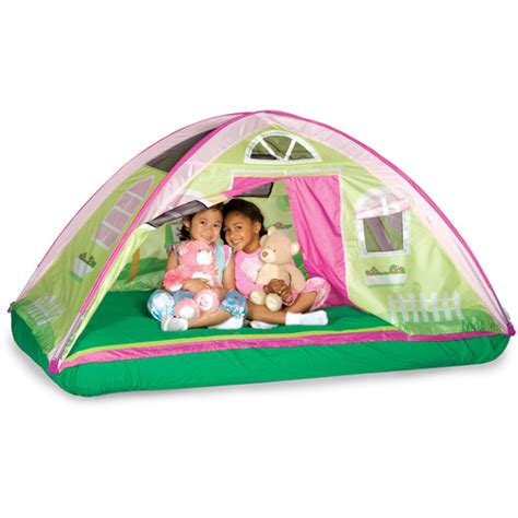 bed tents walmart pacific play tents cottage bed tent twin walmart com