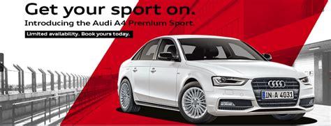 audi banner audi a4 premium sport edition launched autosarena