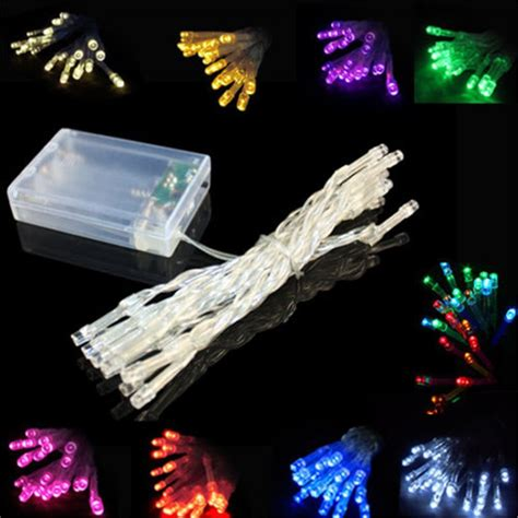 Led Battery Light 3m 30leds Christmas String Christmas Led Light String Battery