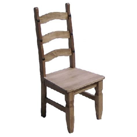 mexican pine dining chairs two chairs