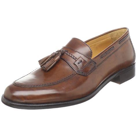 johnston murphy loafer johnston murphy vauter tassel loafer in brown for
