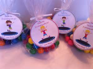 Birthday Favors For by Troline Favor Bags Troline Birthday Favors