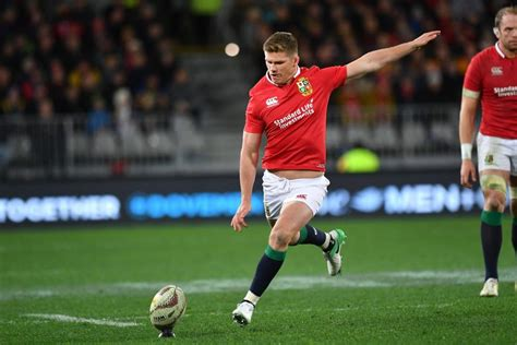 farrell on the bench picks lions vs maori all blacks warren gatland picks peter o