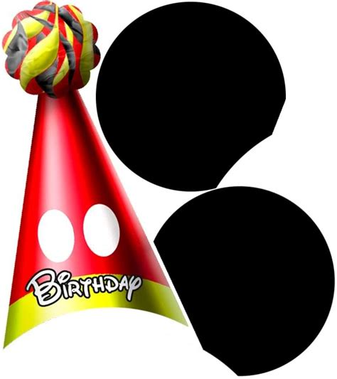 mickey mouse birthday hat template printable mickey mouse ears template cliparts co