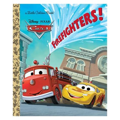 disney pixar cars the books of cars 2009 update take five a day disney pixar cars firefighters little golden book penguin random house cars books at