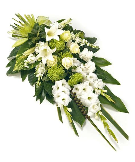 Funeral Bouquet by Send Funeral Flowers In Uk Order White Funeral Sheaf