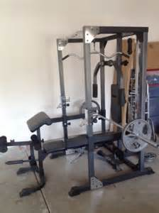club weider squat rack espotted