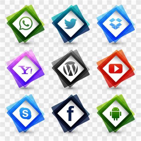 imagenes de redes sociales gratis conjunto de iconos de redes sociales descargar vectores