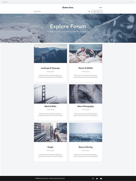 11 new beautiful wix website templates you will love
