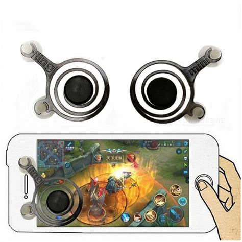 Mobile Joystick Grade A kitbon mobile joystick controller for phone pad 1 pair