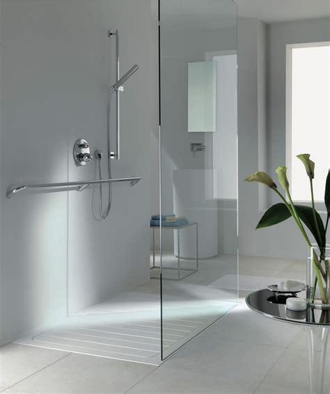 doccia senza piatto doccia piatti doccia a filo per un bagno trendy cose di casa