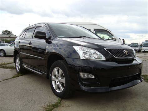 Toyota Harrier Manual In English