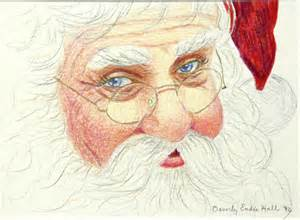 santa face new calendar template site