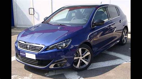 blue peugeot 2015 peugeot 308 hatchback twilight blue