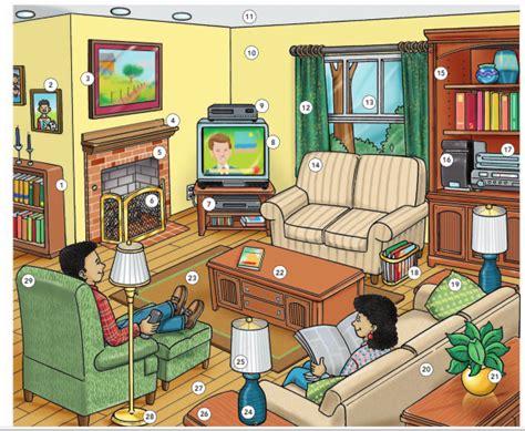 ايزي انجليش تعرف على جميع مكونات غرفة المعيشة باللغة