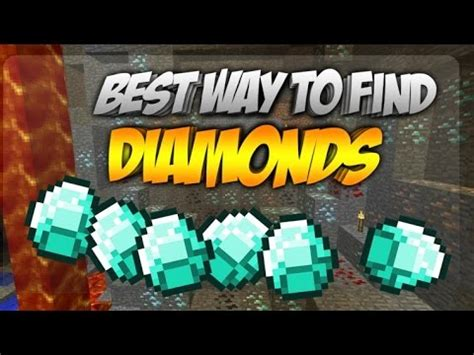 best way to mine diamonds minecraft ps4 best way to find diamonds