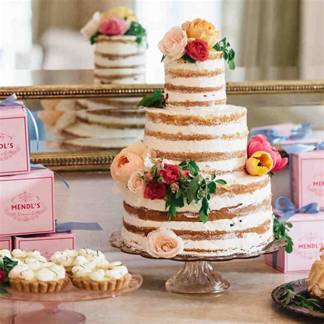 Wedding Cakes by Wedding Cakes Toppers Martha Stewart Weddings