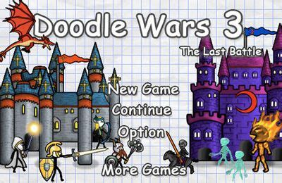 doodle war free doodle wars 3 the last battle iphone free