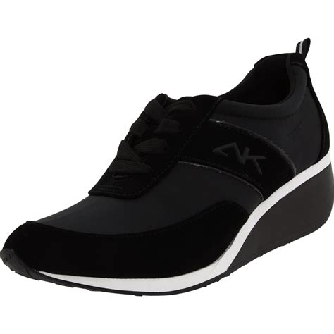 ak sport shoes ak klein sport womens goldee sneaker in black black