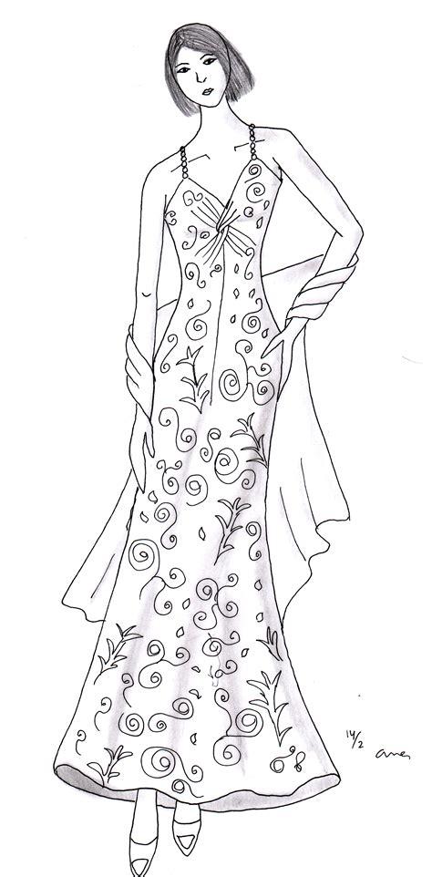 fashion illustration kursus fashion dsesign kursus tata busana wiwi